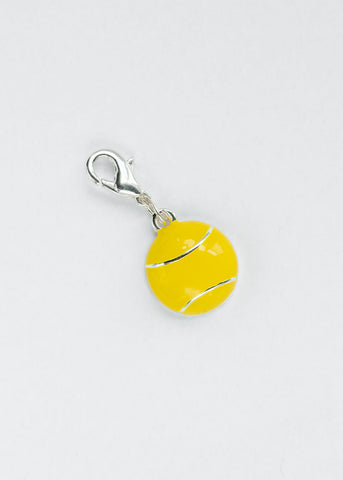 Flush Tennis Ball  Shoe Charm