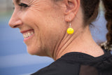 Flush Tennis Ball Earrings