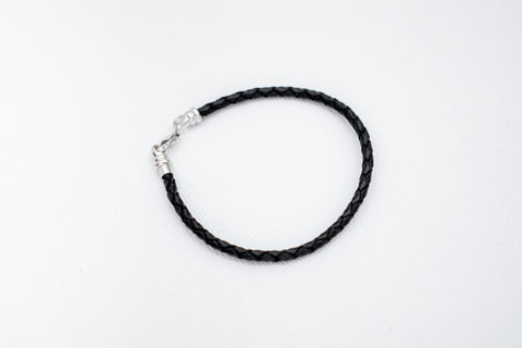 1st Set Black Leather Bracelet