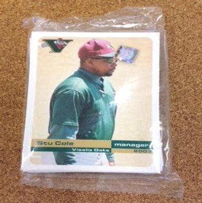 Visalia Rawhide 2003 Oaks Team Card Set