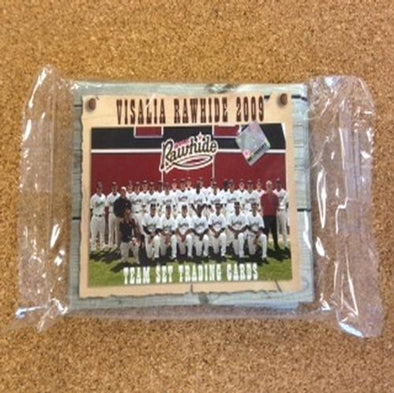 Visalia Rawhide 2009 Team Card Set