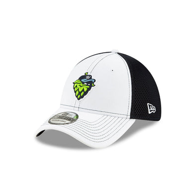 New Era Shadow Tech White 39THIRTY, Hillsboro Hops
