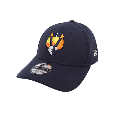Las Vegas Aviators New Era Home Navy 39Thirty Stretch Fit Hat