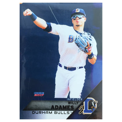Durham Bulls Team Card Set 2017