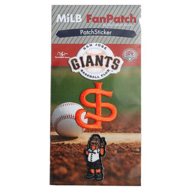 San Jose Giants 3-pk Mini Patch Stickers