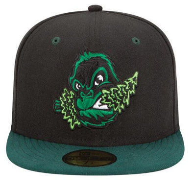 Eugene Emeralds New Era Discontinued On-Field Road Fitted Cap