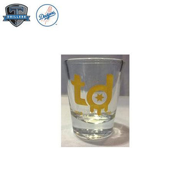"Tulsa Drillers Shot Glass ""918"" Logo"
