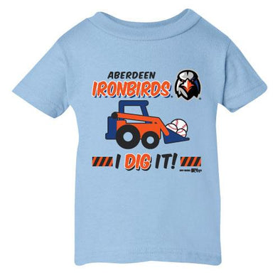 Aberdeen IronBirds infant Dig It tee