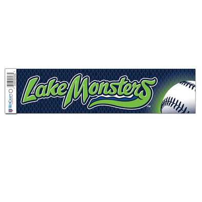 Vermont Lake Monsters Bumper Sticker