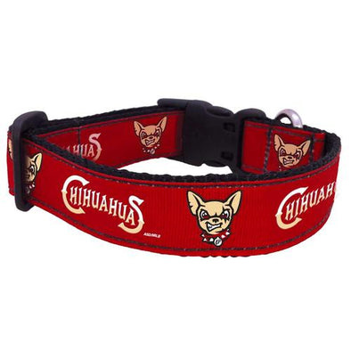 All Star Dog El Paso Chihuahuas Dog Head and Wordmark Collar