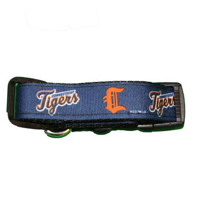 Connecticut Tigers CT Tigers Dog Collar
