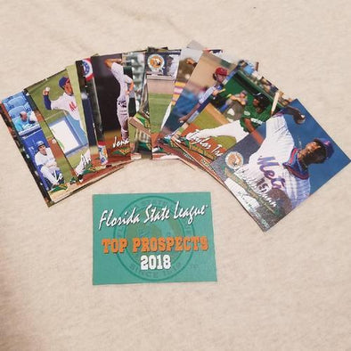 Jupiter Hammerheads 2018 FLORIDA STATE LEAGUE PROSPECT SET