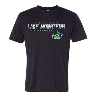 Vermont Lake Monsters Facade - Adult Performance T-Shirt
