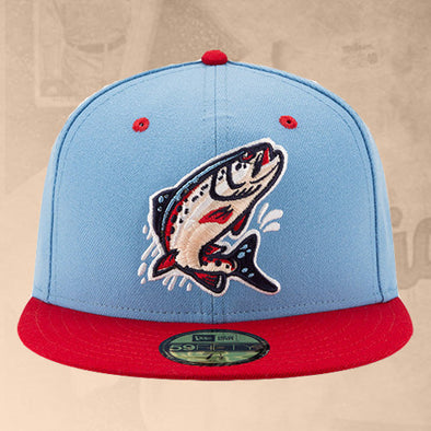 Spokane Indians Fitted Redband Trout