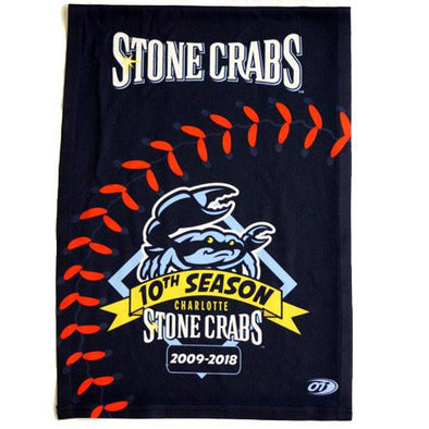 Charlotte Stone Crabs 10TH SEASON - COOLING TOWEL