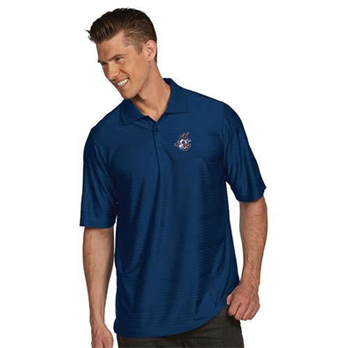 Hartford Yard Goats Antigua Illusion Polo in Navy