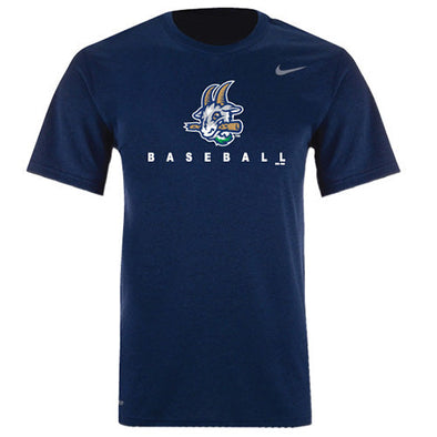 Hartford Yard Goats Nike Adult Legend Tee in Navy
