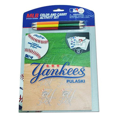 Pulaski Yankees Color & Carry Set