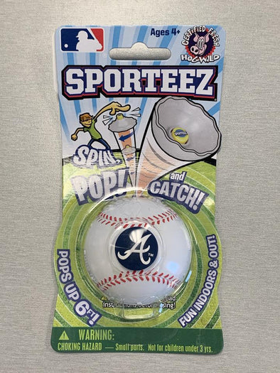 Atlanta Braves Sporteez Spin Pop and Catch