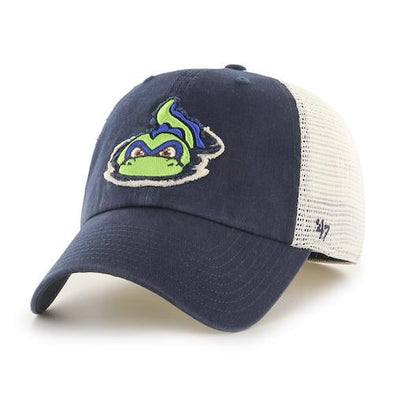 Vermont Lake Monsters Stamper Stretch Fitted Cap - '47 Brand