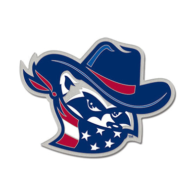 Quad Cities River Bandits Star Spangled Lapel Pin