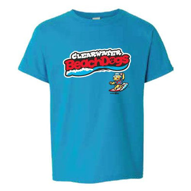 Clearwater Threshers BeachDogs Youth Tee Soft Style