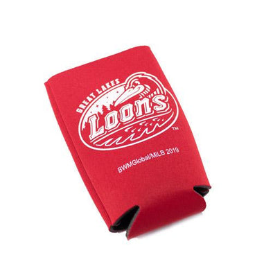 Great Lakes Loons Tall Boy Koozie