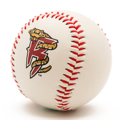 Wisconsin Timber Rattlers R Logo Baseball