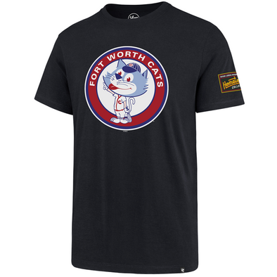 Fort Worth Cats Circle Logo Hometown Collection '47 Tee - Navy
