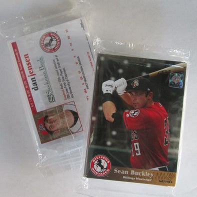 Billings Mustangs 2011 Billings Mustangs Team Set
