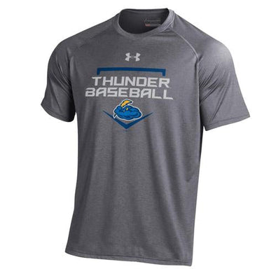 Trenton Thunder Youth Under Armour Carbon Heather t-shirt
