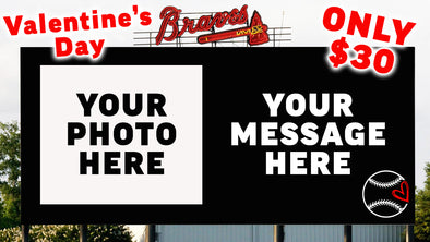 Valentine's Day 4-Pack and Video Board Message!