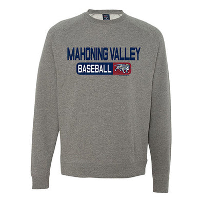 Mahoning Valley Baseball Crewneck Sweatshirt