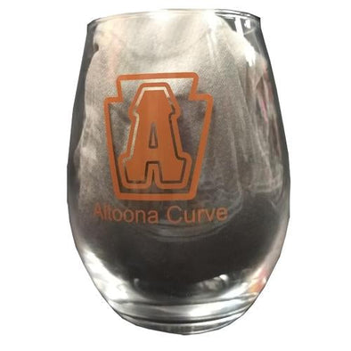 Altoona Curve Wine Glass
