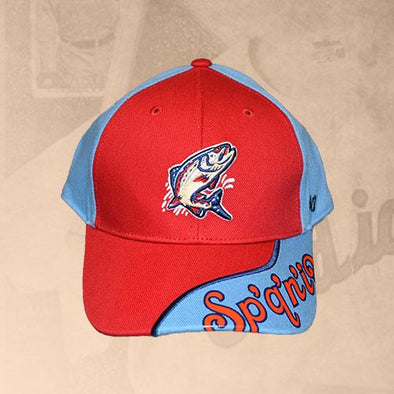 Spokane Indians Youth Hambone Adj Cap