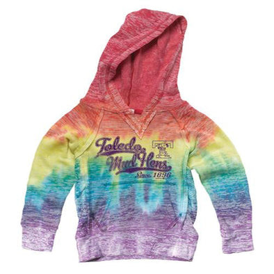 Youth Rainbow Courtney Burnout Hood
