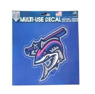 Pensacola Blue Wahoos Clobberfish Decal