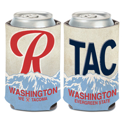 Tacoma Rainiers License Plate Koozie