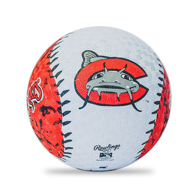 "Carolina Mudcats 5"" Playground Ball"