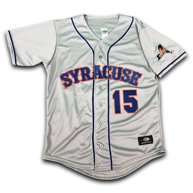 Syracuse Mets OT Replica Road Tebow Jersey