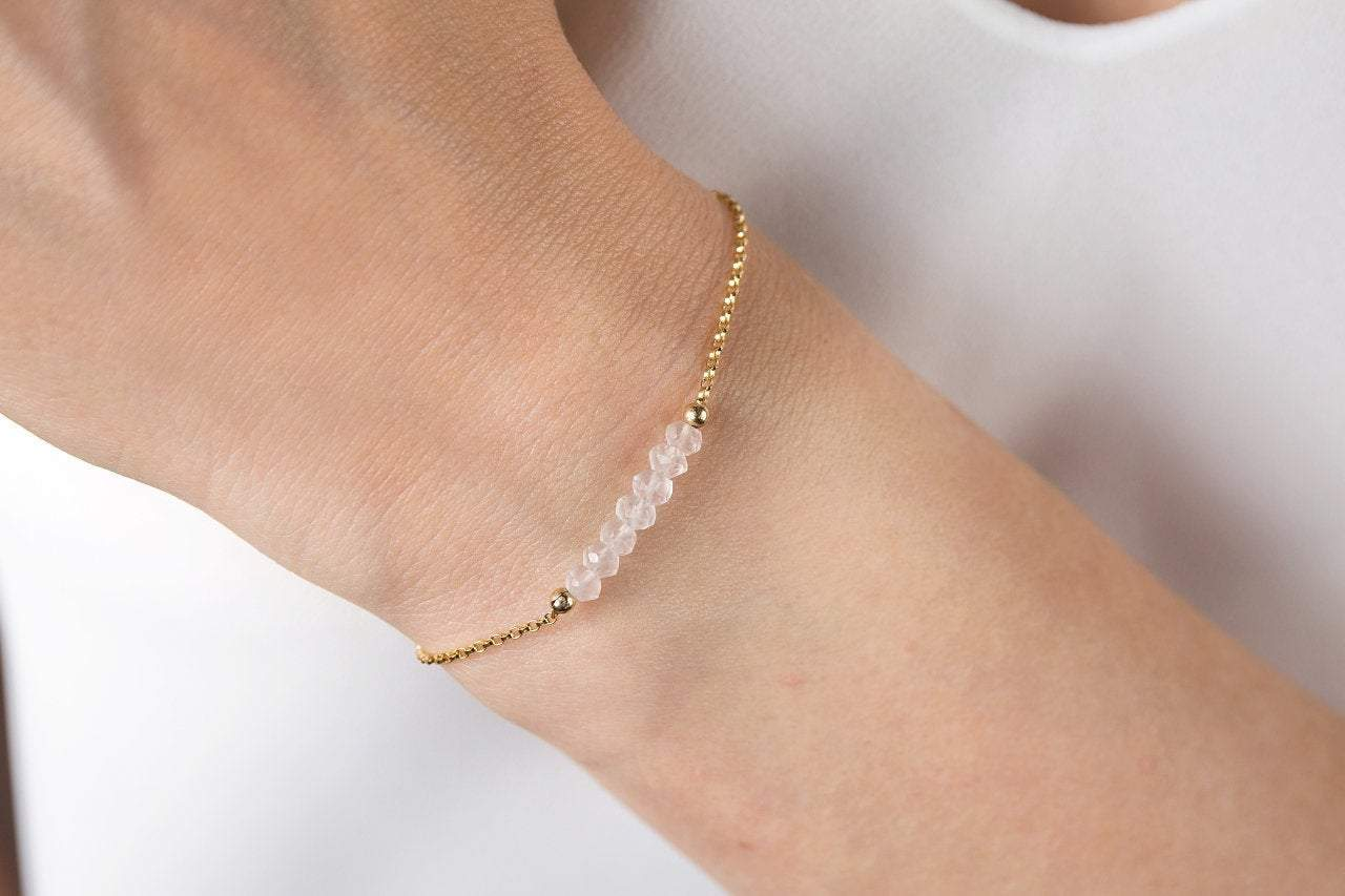 Rose Quartz Bracelet - Boutique Baltique