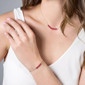 Ruby Bracelet - Boutique Baltique