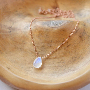 Rainbow Moonstone Necklace - Boutique Baltique