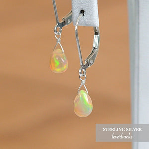 Ethiopian Wello Opal Earrings - Boutique Baltique