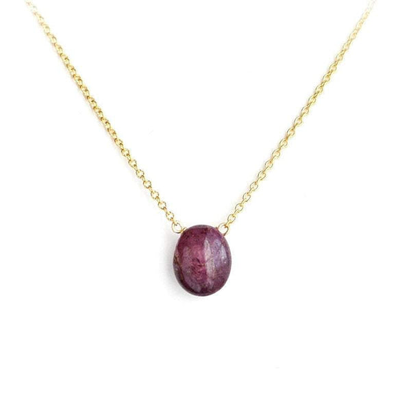 Star Ruby Necklace - Boutique Baltique