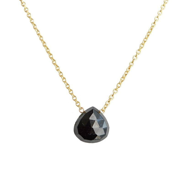 Black Tourmaline necklace - Boutique Baltique
