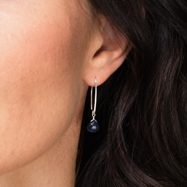 Blue Sapphire Earrings - Boutique Baltique