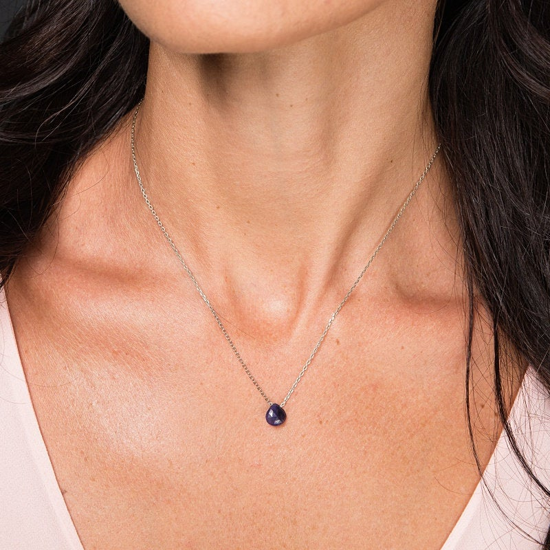 Blue Sapphire Necklace - Boutique Baltique