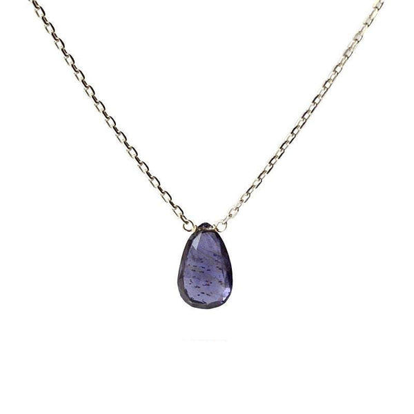 Iolite - Water Sapphire Necklace - Boutique Baltique