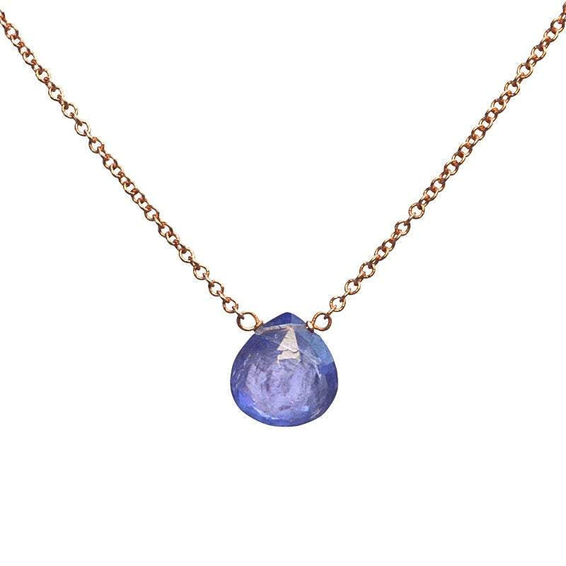 Tanzanite necklace - Boutique Baltique